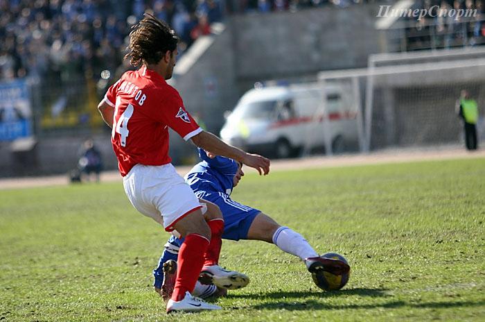 России по футболу зенит спартак 31 03